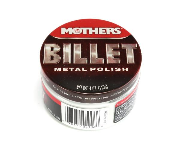 Паста для полирования и чистки хрома Billet Metal Polish 113 gr Mothers