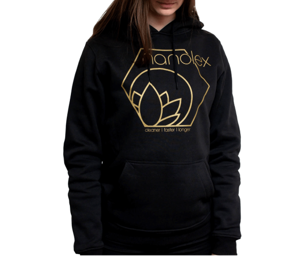 Hooded Sweatshirt M, Black