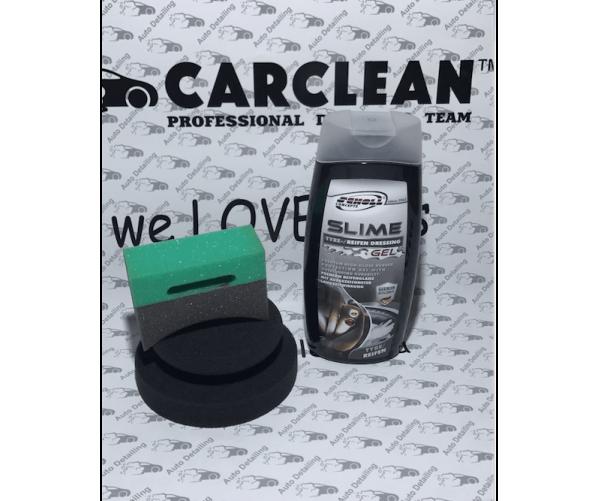 Премиум гель для шин и резиновых элементов Slime Tyre Dressing Gel 500ml