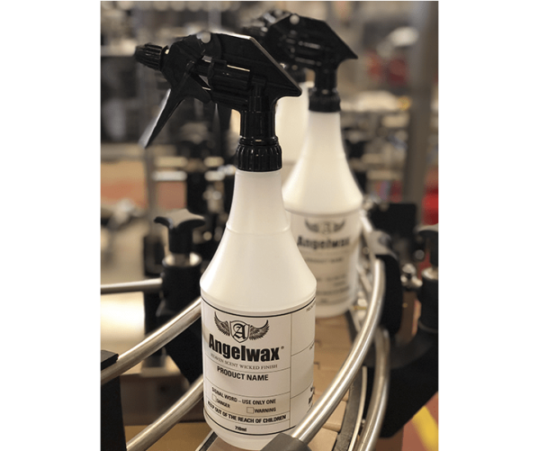 Chemical Resistant Heavy-Duty Bottle & Sprayer  Angelwax