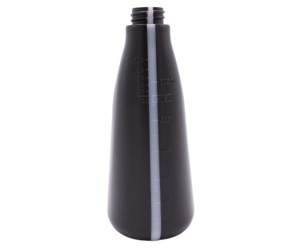 Bottle Polyethylene 600 ml Black DeWitte