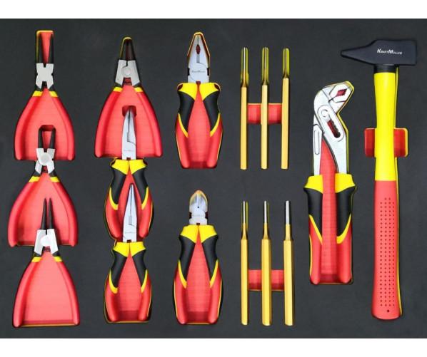 Многофункциональная тележка с набором инструментов (583 единицы) PCS Tool SET