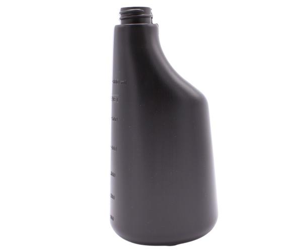 Хімстійка пляшка Bottle Polyethylene 600 ml Black