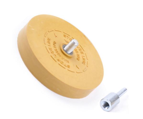 Круг-насадка для удаления клейких материалов Eraser wheel Ø88mm