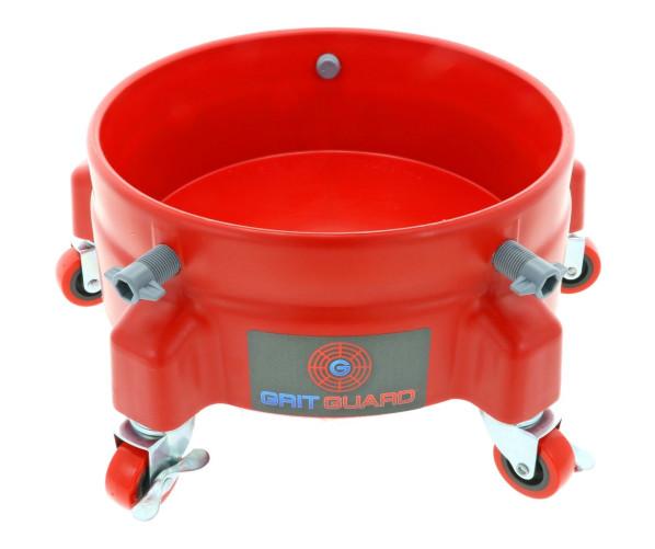 Roller Mount Red  Grit Guard