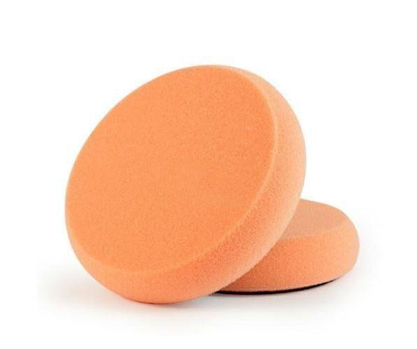 Мягкий полировальный круг с прочной липучкой  Polishing Pad-Orange 80/85 mm Scholl Concepts