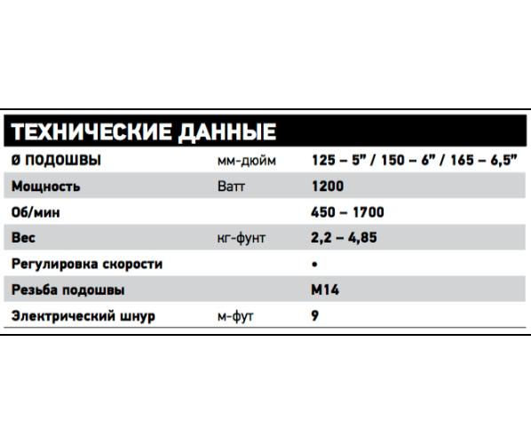 Полировальная машинка с роторной системой вращения Rotary LH19E/STN