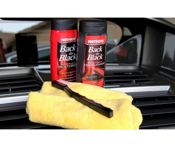 Back to Black Heavy Duty Trim Cleaning KIT Mothers