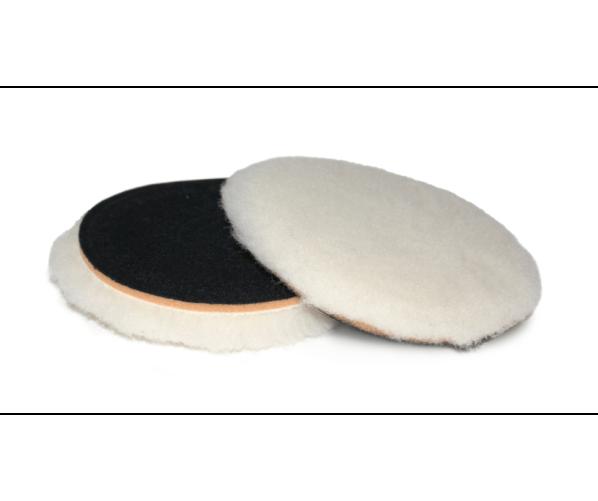 Полірувальний абразивний круг з натуральної овчини Premium SofTouch Top Wool 135 mm