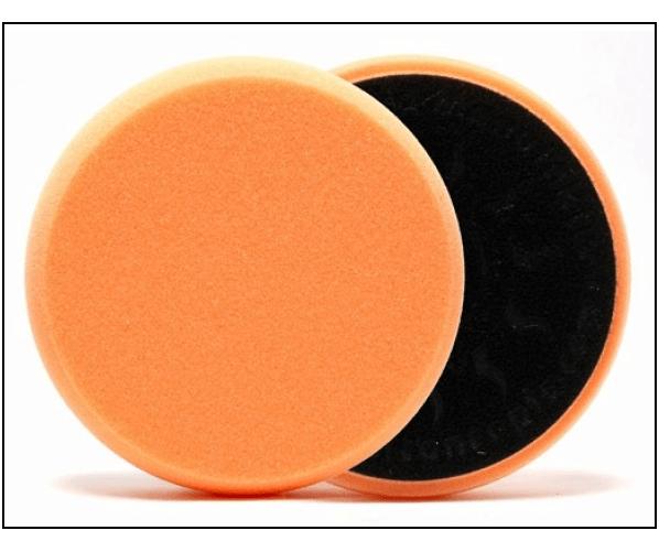 Мягкий полировальный круг с прочной липучкой  Polishing Pad-Orange 80/85 mm