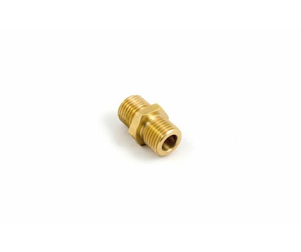 Різьбове з'єднання до швидкозйому Nipple Brass 1/4Mx1/4M