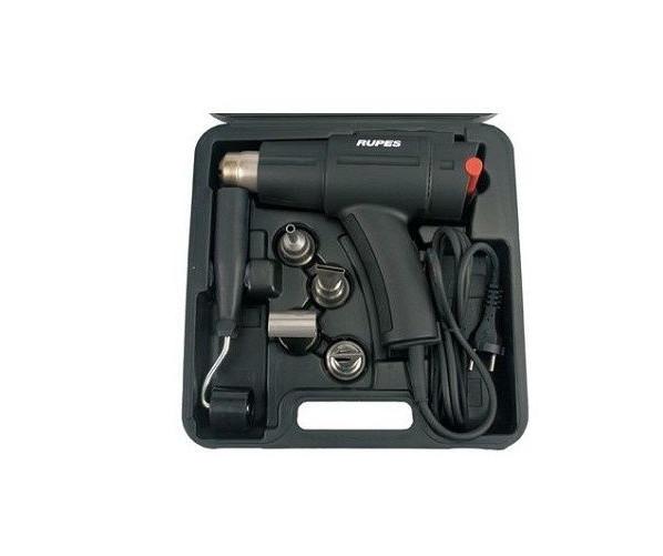 Heat-Gun + Case With Accessories Rupes