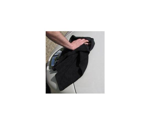 Мягкая,плотная микрофибра Microfibre Cloth Maxi Black DeWitte