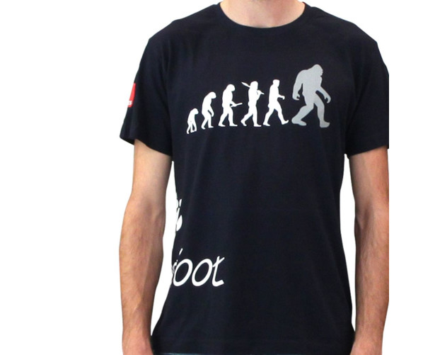 BigFoot T-Shirt Evolution Blue - M Rupes