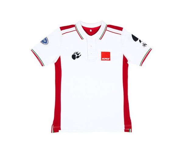 BigFoot Polo Racing White/Red M