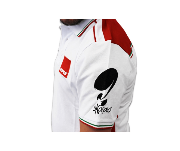 BigFoot Polo Racing White/Red S