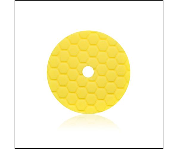 Абразивний полірувальний круг Foam Pad Heavy  135 mm, Yellow