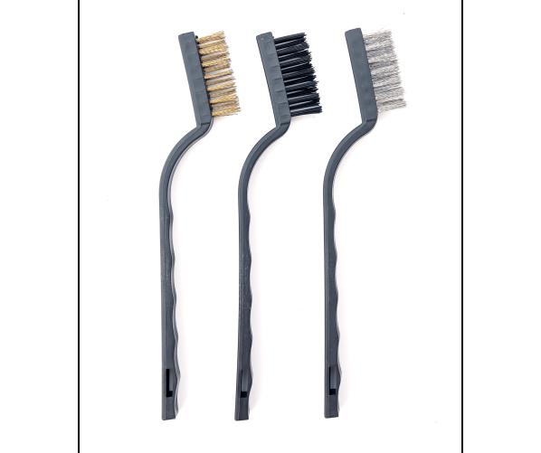 Набір дротяних щіток Detailer Wire Brush Set 3 pc - Mini