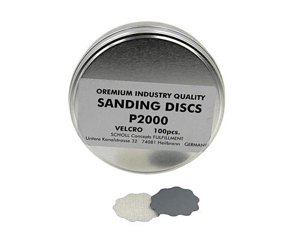 """Velcro Sanding Paper 32 mm """"P2000"""" KIT 100 pcs Scholl Concepts"""