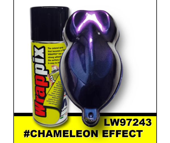 Рідка плівка колір хамелеон Аerosol Chameleon Violet Blue 400 ml Wrappix