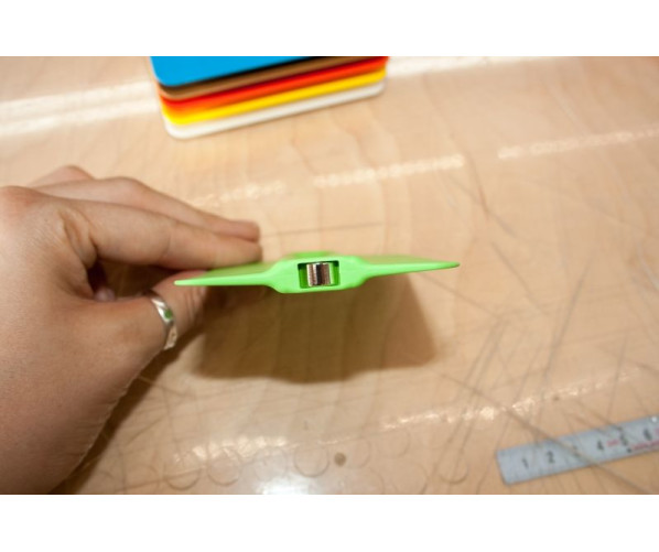 TonnyMag Basic Plastic-Squeegee  Ракель для поклейки плівки, жовтий  (70°) Yellotools