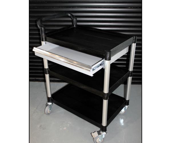 Трирівневий візок з висувним ящиком  Multipurpose trolley with drawer Krauss