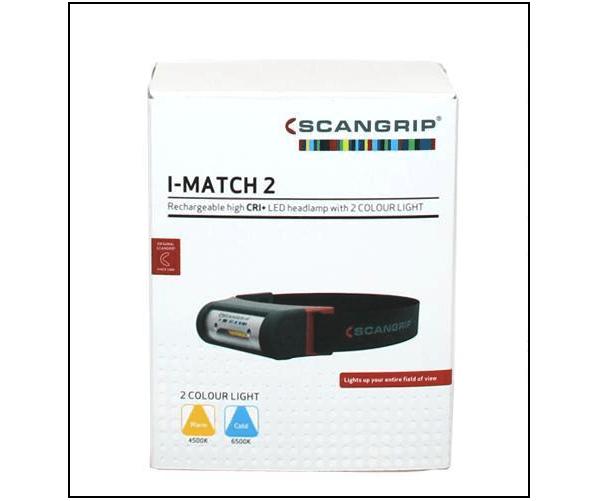 Налобный фонарик I-Match 2