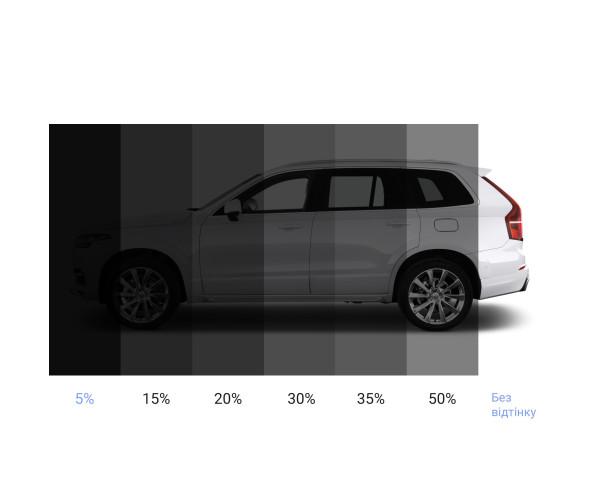 Тонувальна плівка для вікон Carclean Windows Films 35% - 1,52 x 30 m (погонні) CARCLEAN PPF