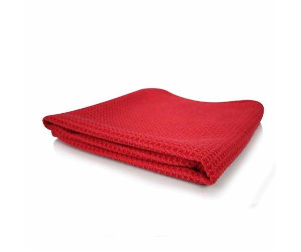 Waffled Cloth Microfiber Towel 55х27 cm, Red DeWitte