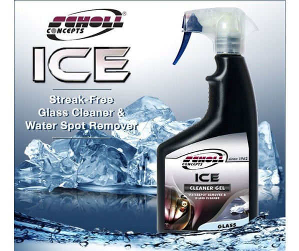 ICE Glass Cleaning Gel 500 ml Scholl Concepts
