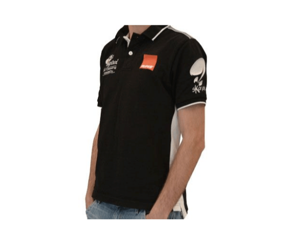 Брендовое поло BigFoot Academy Polo Black Line M Rupes