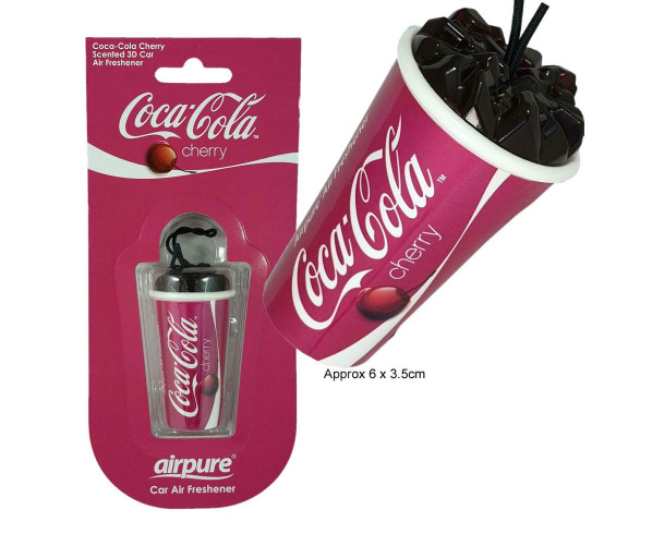Ароматизатор в автомобиль Air Freshener Coca-Cola Cherry AIRPURE
