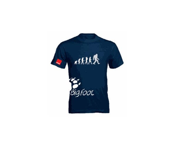 Брендова футболка BigFoot T-Shirt Evolution Blue -XL