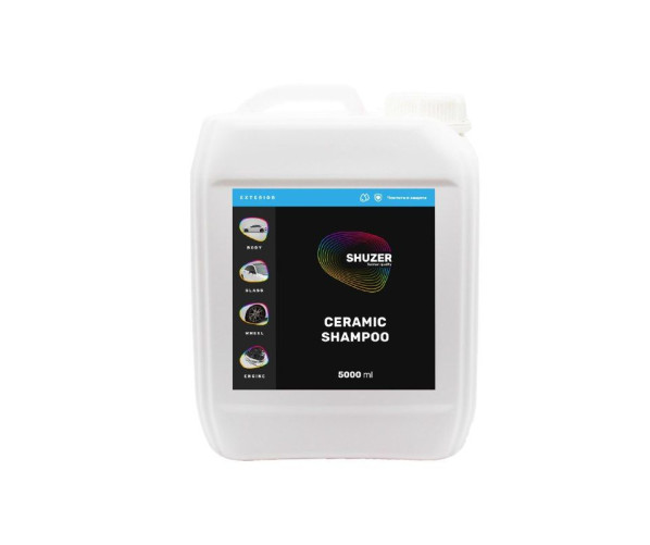 Професійний шампунь для ручної мийки автомобіля Ceramic Shampoo 5L