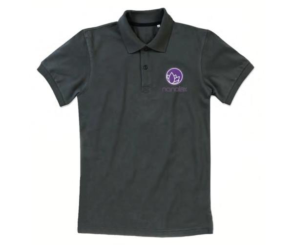 Брендове поло Microfiber Poloshirt S, Black