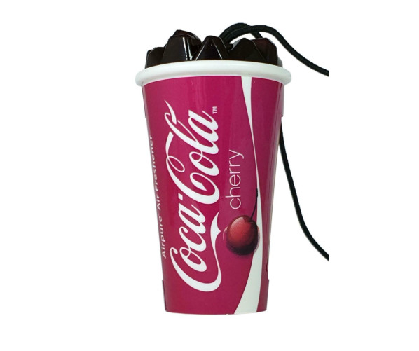 Ароматизатор в автомобиль Air Freshener Coca-Cola Cherry