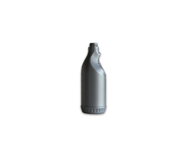 Bottle Polyethylene 750 ml Gray
