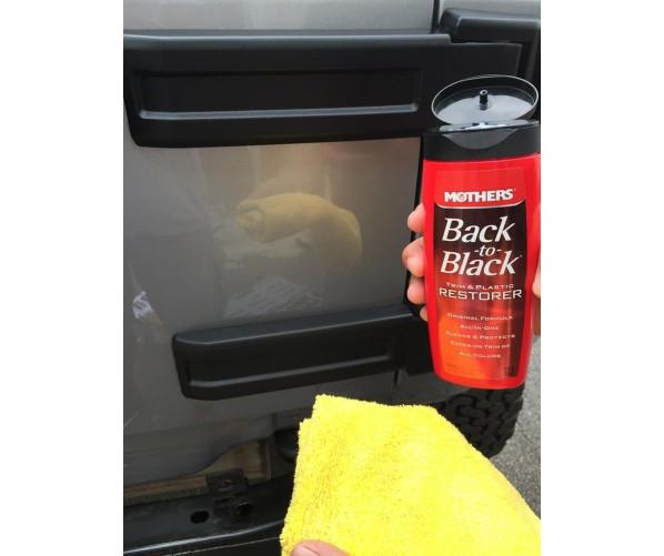 Back to Black Trim & Plastic Restorer 355ml,  фото