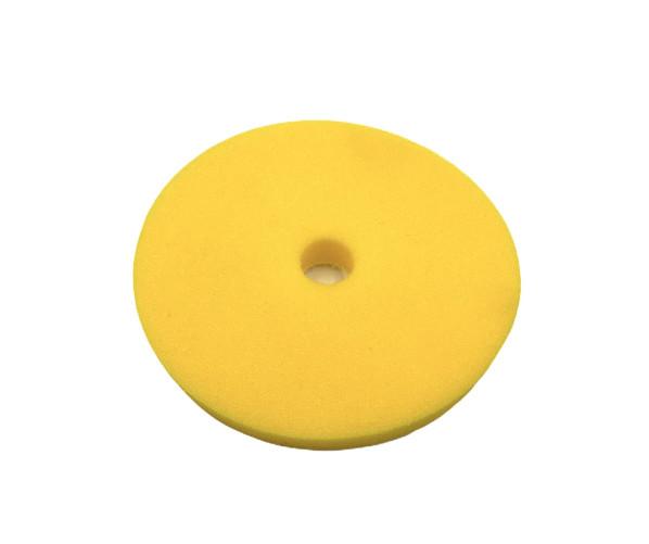Полировальный круг средней абразивности Foam Pads Medium Yellow 125mm