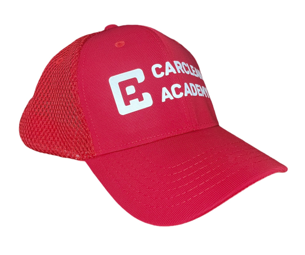 Кепка Carclean Academy Red