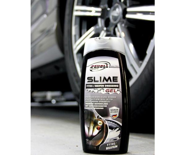 Премиум гель для шин и резиновых элементов Slime Tyre Dressing Gel 500ml Scholl Concepts