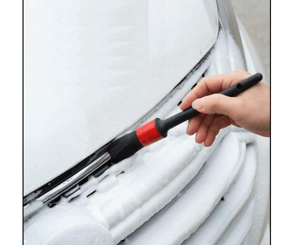 Набір щіток для детейлінгу Detailing Car Brush Set - Natural Boar Hair Mixed