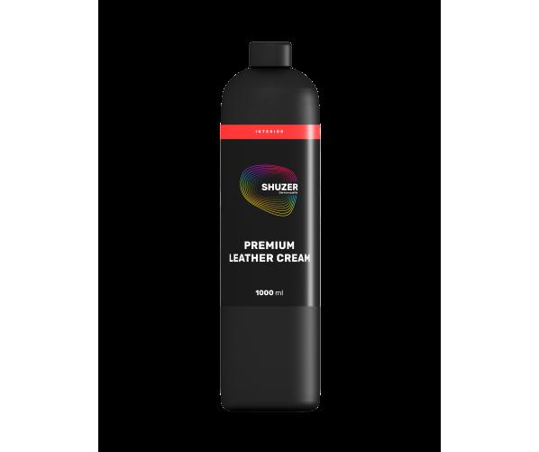 Крем для захисту та імпрегнації шкіри Premium Leather Cream 1L