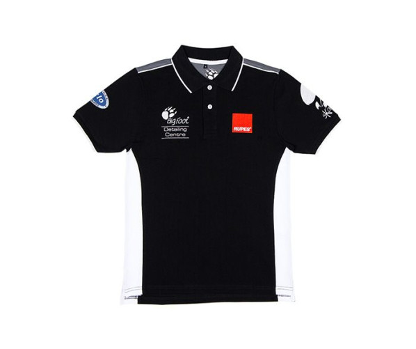 Брендовое поло BigFoot Academy Polo Black Line M