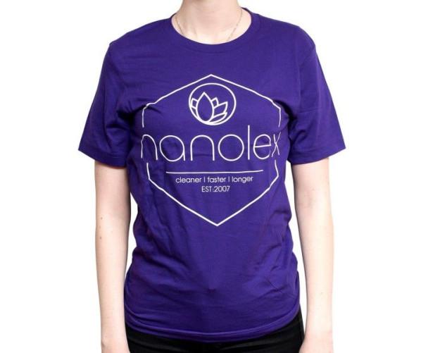 T-shirt Classic XL, Purple/White