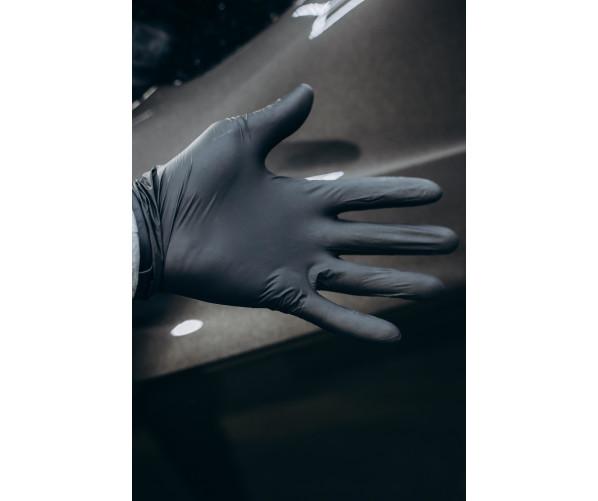 Чорні нітрилові рукавички NITRILUX - L VitaLux