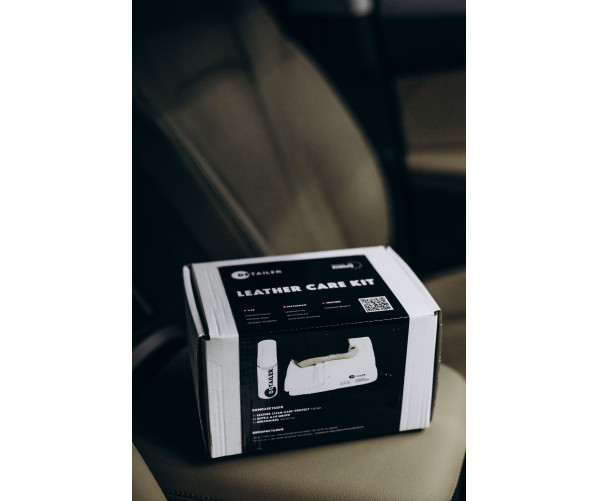 Набір для очищення, оновлення і захисту шкіри Leather Care KIT DETAILER