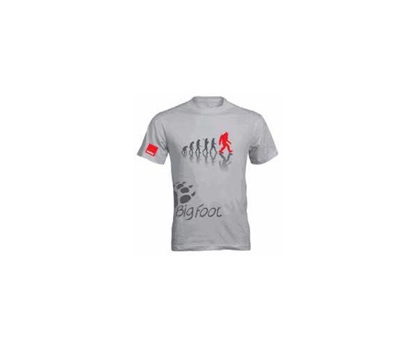 Брендовая футболка Rupes BigFoot T-Shirt Evolution Grey L