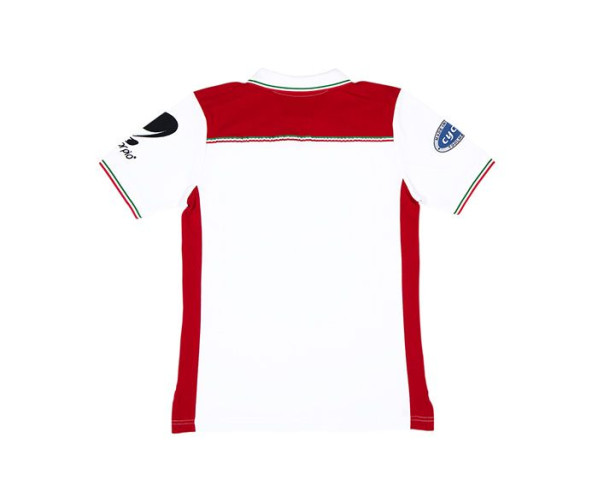BigFoot Polo Racing White/Red M Rupes