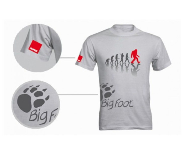 BigFoot T-Shirt Evolution Grey XL Rupes